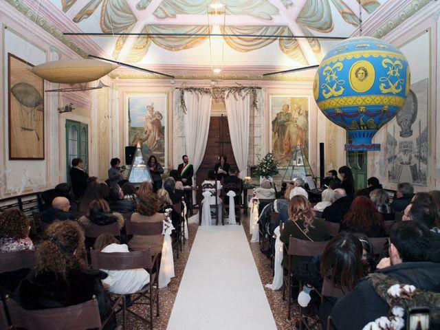 Il matrimonio di Tommaso e Fabiana a Due Carrare, Padova 19