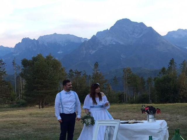 Il matrimonio di Simone e Elisa a Giuncugnano, Lucca 50
