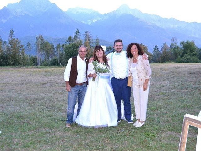 Il matrimonio di Simone e Elisa a Giuncugnano, Lucca 61