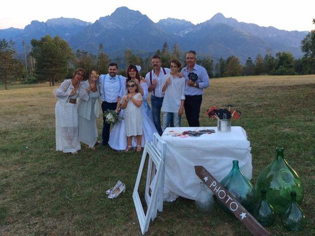 Il matrimonio di Simone e Elisa a Giuncugnano, Lucca 63