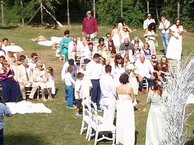 Il matrimonio di Simone e Elisa a Giuncugnano, Lucca 88