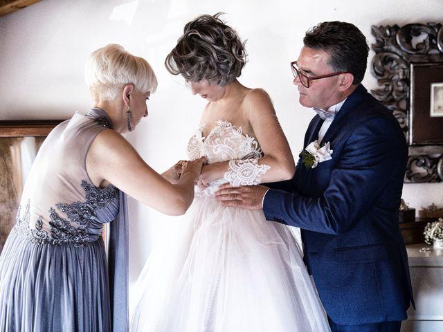 Il matrimonio di Giuseppe e Mariafrancesca a Montechiarugolo, Parma 16