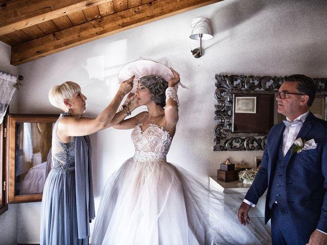Il matrimonio di Giuseppe e Mariafrancesca a Montechiarugolo, Parma 17