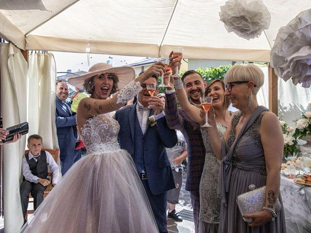 Il matrimonio di Giuseppe e Mariafrancesca a Montechiarugolo, Parma 19
