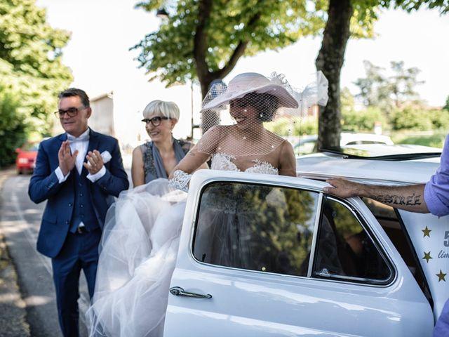 Il matrimonio di Giuseppe e Mariafrancesca a Montechiarugolo, Parma 41