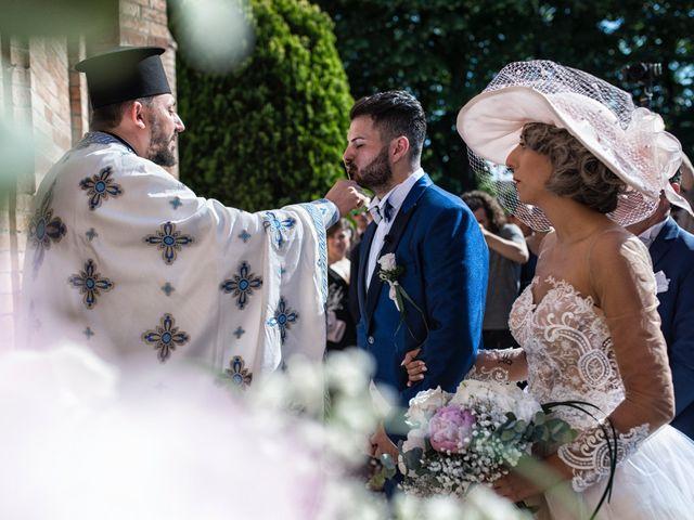 Il matrimonio di Giuseppe e Mariafrancesca a Montechiarugolo, Parma 45