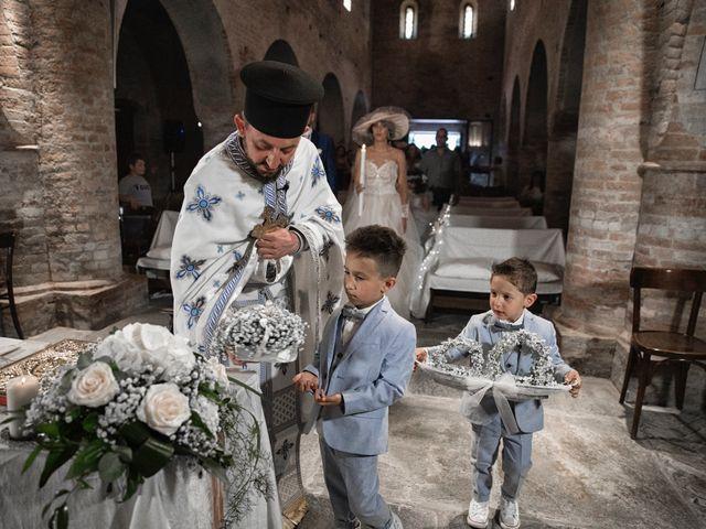 Il matrimonio di Giuseppe e Mariafrancesca a Montechiarugolo, Parma 48