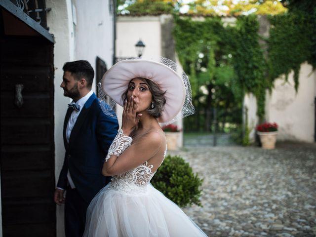 Il matrimonio di Giuseppe e Mariafrancesca a Montechiarugolo, Parma 63