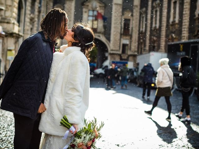 Le nozze di Erika e Ennis