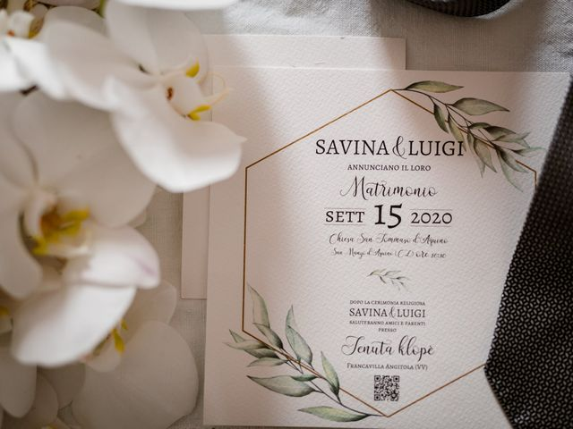 Il matrimonio di Luigi e Savina a San Mango d'Aquino, Catanzaro 4