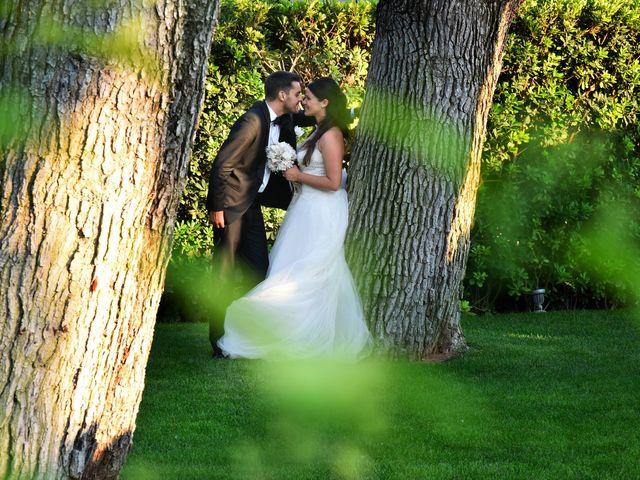 le nozze di Raffaella e Pierpaolo