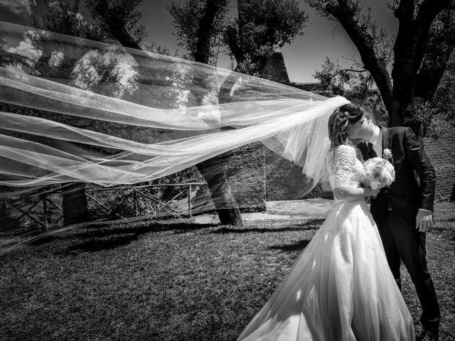 le nozze di Jessica e Francesco