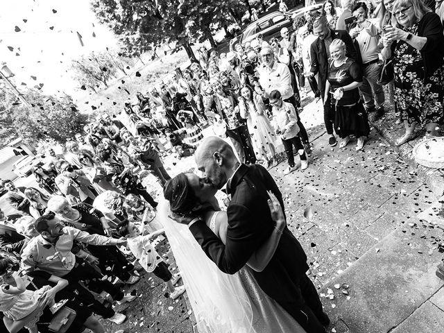 Il matrimonio di Francesco e Silvia a Palaia, Pisa 31