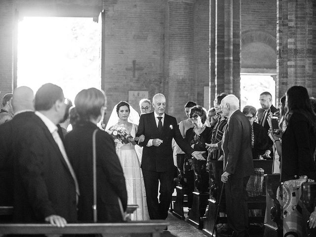 Il matrimonio di Francesco e Silvia a Palaia, Pisa 21