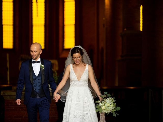 Il matrimonio di Francesco e Silvia a Palaia, Pisa 29