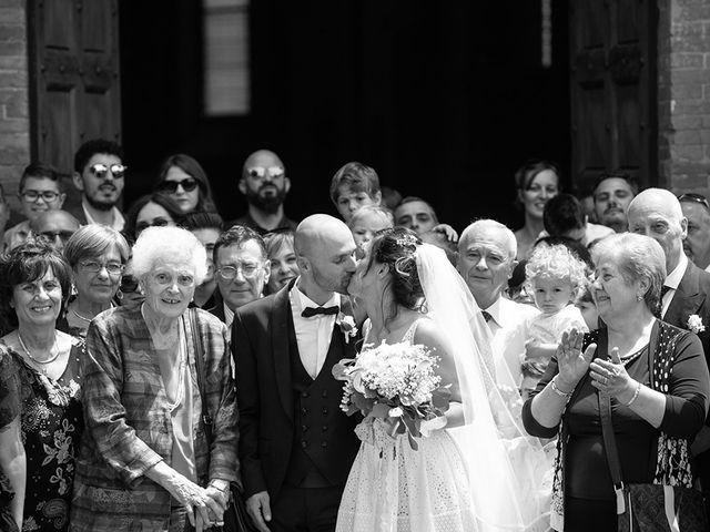 Il matrimonio di Francesco e Silvia a Palaia, Pisa 32