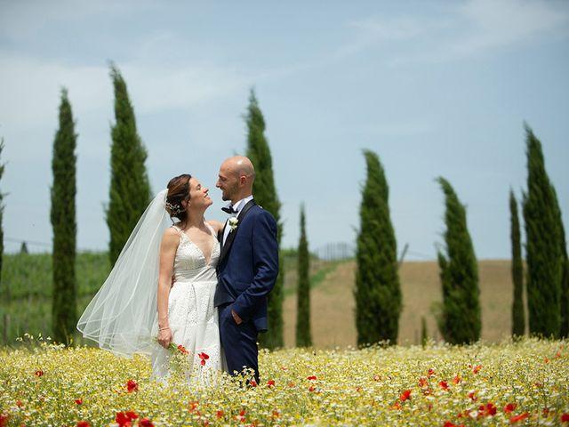 Il matrimonio di Francesco e Silvia a Palaia, Pisa 38