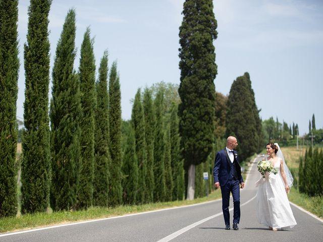 Il matrimonio di Francesco e Silvia a Palaia, Pisa 46