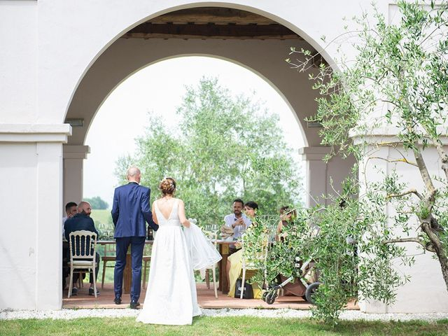 Il matrimonio di Francesco e Silvia a Palaia, Pisa 70