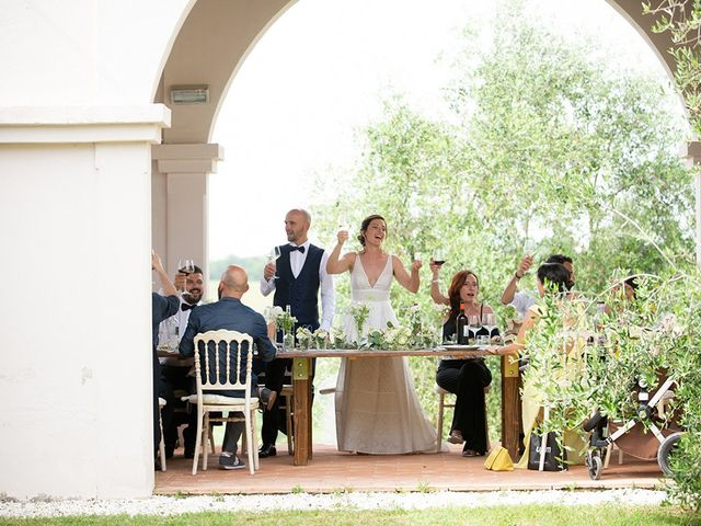 Il matrimonio di Francesco e Silvia a Palaia, Pisa 76
