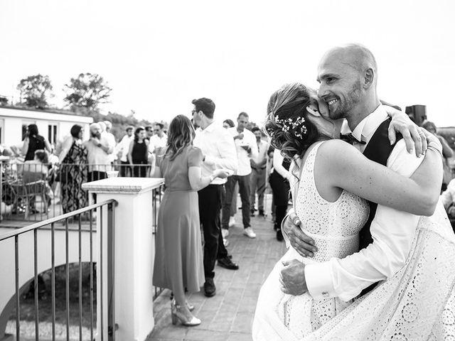 Il matrimonio di Francesco e Silvia a Palaia, Pisa 107