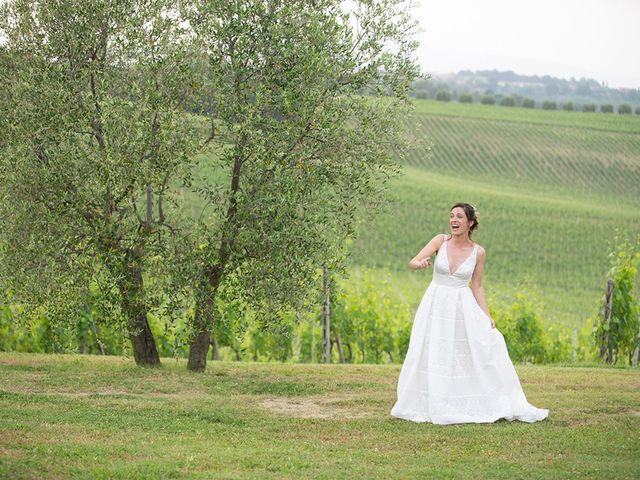 Il matrimonio di Francesco e Silvia a Palaia, Pisa 112