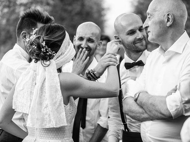 Il matrimonio di Francesco e Silvia a Palaia, Pisa 120