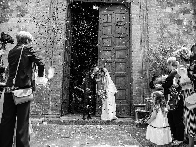Il matrimonio di Francesco e Silvia a Palaia, Pisa 30