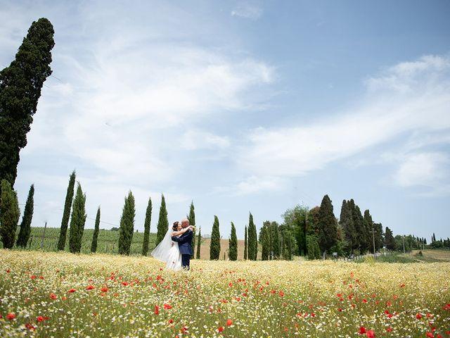 Il matrimonio di Francesco e Silvia a Palaia, Pisa 37