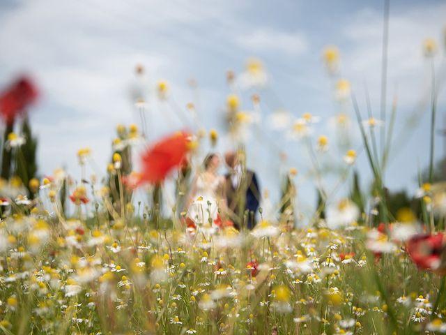 Il matrimonio di Francesco e Silvia a Palaia, Pisa 45