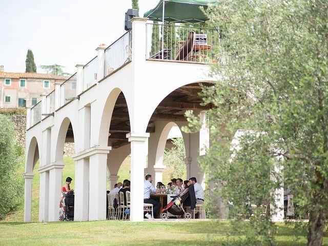 Il matrimonio di Francesco e Silvia a Palaia, Pisa 79