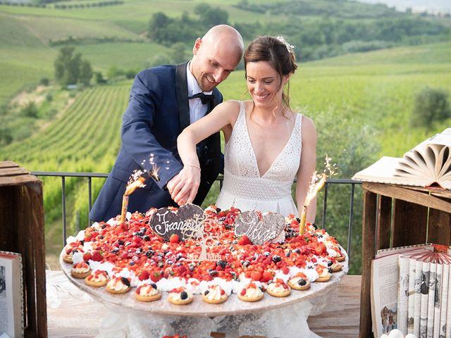 Il matrimonio di Francesco e Silvia a Palaia, Pisa 96