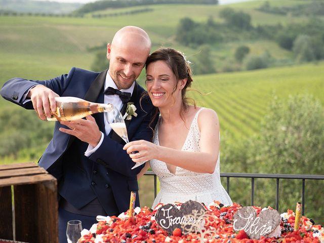Il matrimonio di Francesco e Silvia a Palaia, Pisa 97