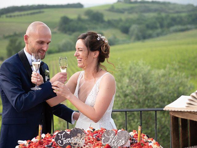 Il matrimonio di Francesco e Silvia a Palaia, Pisa 98