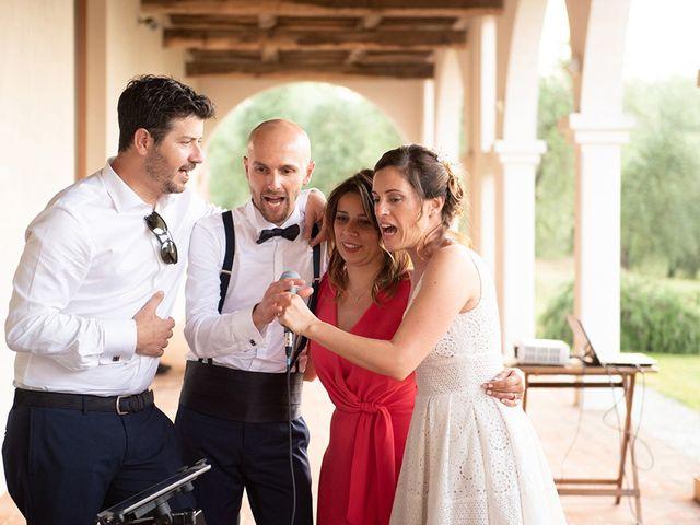 Il matrimonio di Francesco e Silvia a Palaia, Pisa 124
