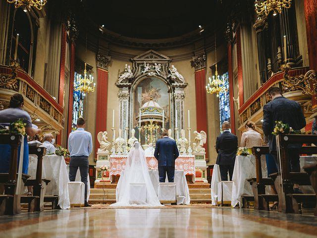 Il matrimonio di Matteo e Federica a Leno, Brescia 7