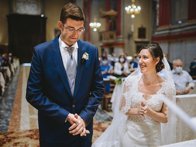 Il matrimonio di Matteo e Federica a Leno, Brescia 10