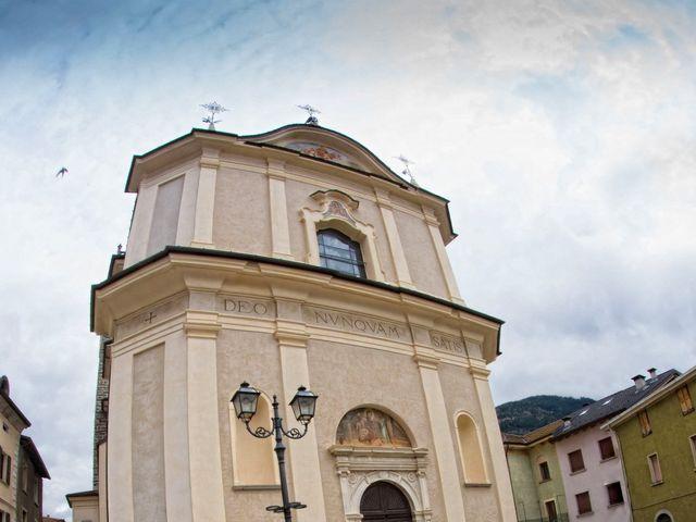 Il matrimonio di stefano e daniela a Vezza d'Oglio, Brescia 25