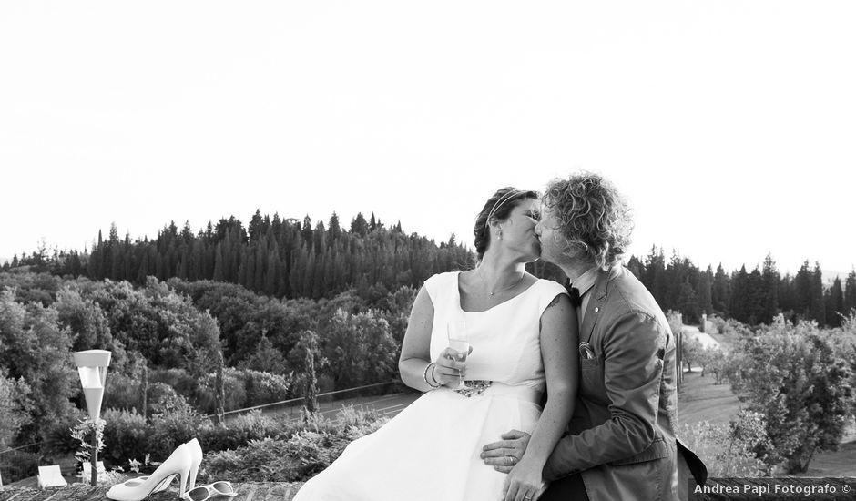 Il matrimonio di Gabriele e Laura a Tavarnelle Val di Pesa, Firenze