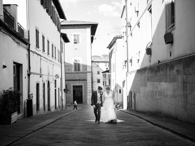 Il matrimonio di Giulio e Noemi a Carmignano, Prato 13