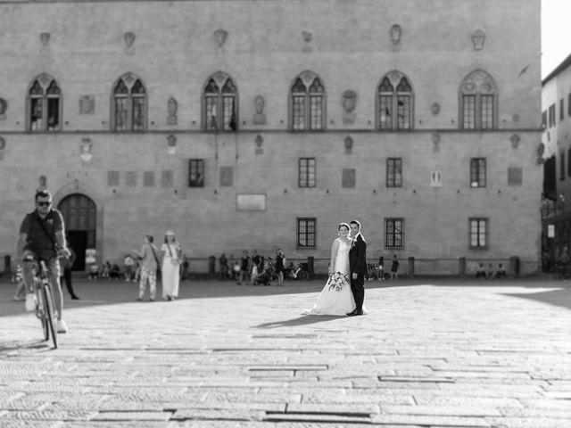 Il matrimonio di Giulio e Noemi a Carmignano, Prato 14