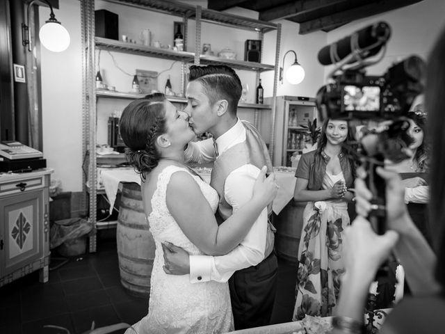Il matrimonio di Giulio e Noemi a Carmignano, Prato 41
