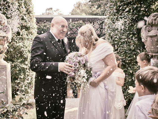 le nozze di Antonella e Aldo