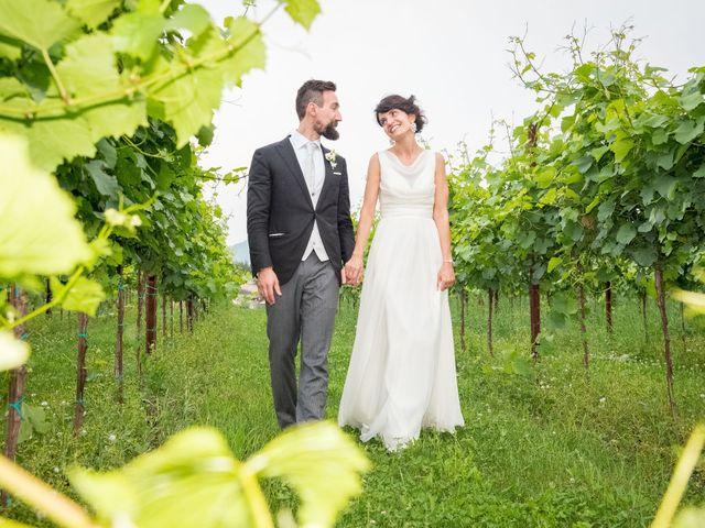 le nozze di Paola e Andrea