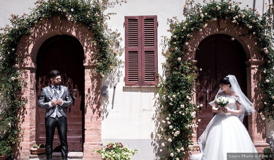 Il matrimonio di Alessio e Chiara a Rosora, Ancona