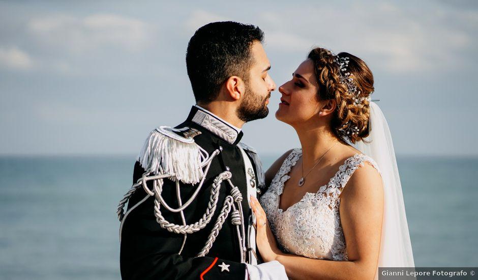 Il matrimonio di Matteo e Irisz a Mattinata, Foggia