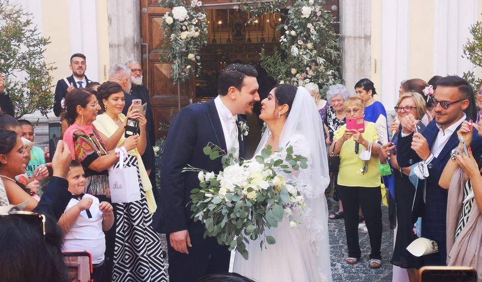 Il matrimonio di Sara e Andrea a Cava de' Tirreni, Salerno