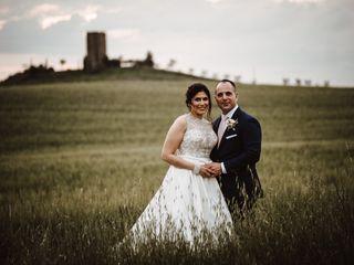 Le nozze di Amy e Stephen