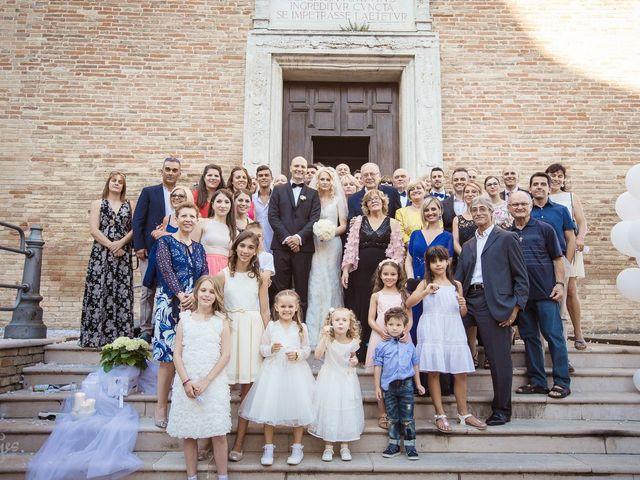 Il matrimonio di Emanuele e Olga a Offagna, Ancona 31