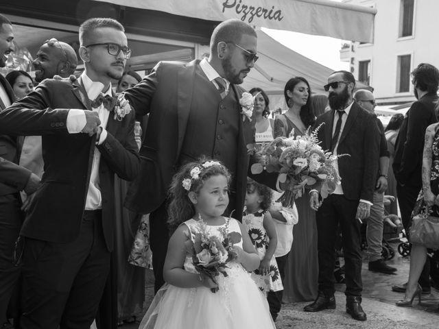 Il matrimonio di Gas e Sofie a Sirmione, Brescia 31